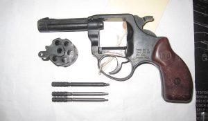 Revolver pins